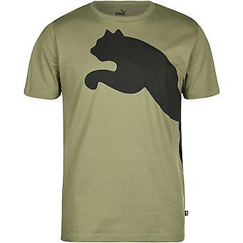 Puma Stor Katt QT T Skjorte Menns