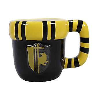Harry Potter Shaped Mug Hufflepuff new Official Boxed