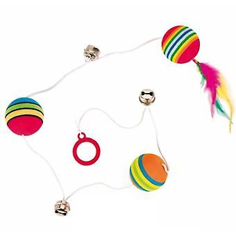 Trixie 3 Bolas Arcoiris (Gatos , Brinquedos , Bolas)