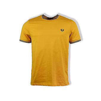 Fred Perry Twin Tipped T-Shirt (Amber)