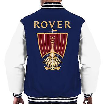 Rover Logo British Motor Heritage Men's Varsity Jacket