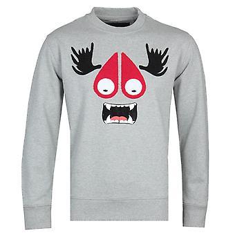 Moose Knuckles Charcoal Munster Sweatshirt