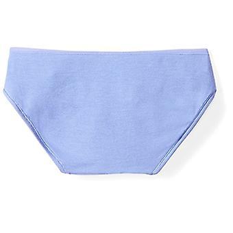 Brand - Mae Women's Modal Bikini, 5 Pack,Navy Blue Blue/Stonewash/Harb...