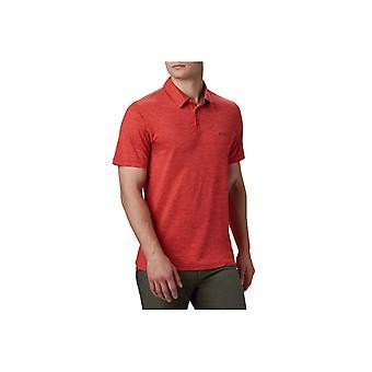 קולומביה טק שביל פולו חולצה 1768701845 אוניברסלי כל השנה גברים חולצת טריקו