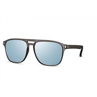 النظارات الشمسية الرجال بانتو كامل مؤطرة كات. 3 فضة / أزرق