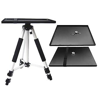 Universal Metal Tray Stand Platen Platform Holder Bracket Mount for 3/8inch Tripod Projectors Monitors Laptops