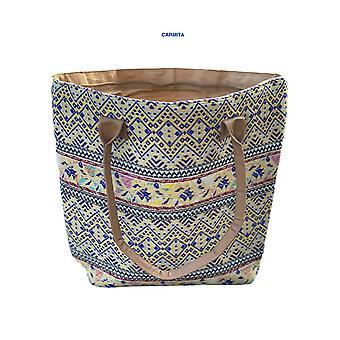 Buckle Southwestern Multi Colour Stylish Purses Handbags- Carmita
