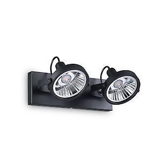 2 Licht Decke Licht Schwarz