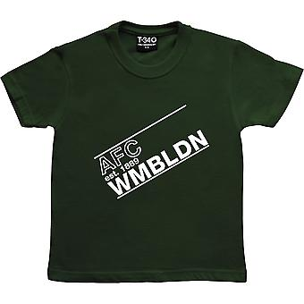 AFC Wmbldn Racing Green Kids' T-Shirt