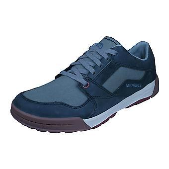 Merrell Berner cambio encaje Mens zapatillas / zapatos - granito