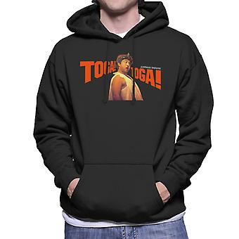 Animal House Bluto Toga Toga Men's Hooded Sweatshirt