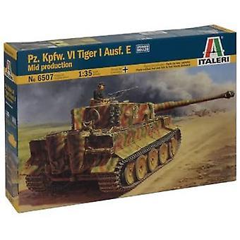 Italeri 6507 1: 35 IT WW2 Armoured Combat Tank VI Tiger I E