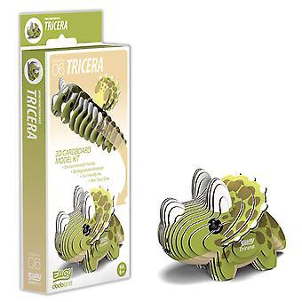 EUGY Tricera 3D Craft Kit
