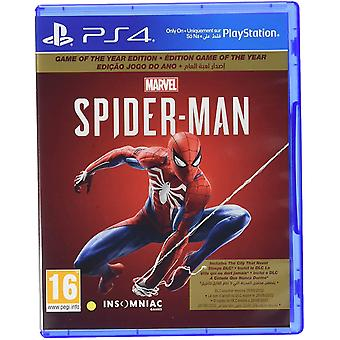 Spider-Man Game Of The Year Edition PS4 (English/French/Portuguese/Arabic Box)