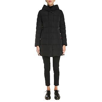Woolrich Wwou0293frut0573100 Women's Black Polyester Down Jacket