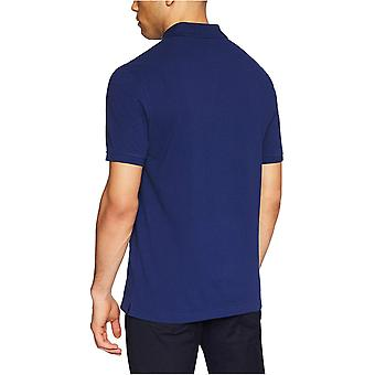 Essentials Menn's Slim-Fit Bomull Pique Polo Skjorte