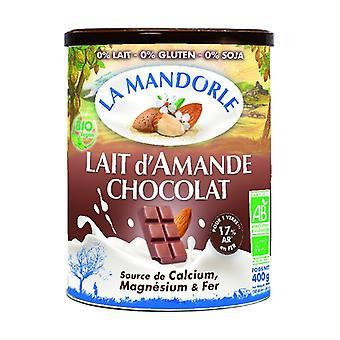 Organic chocolate almond milk 400 g of powder