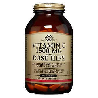 Solgar C-vitamiini ruusun lonkalla, 1500 mg, 180 tabia