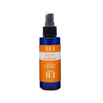 EO Products Organic Deodorant Spray, Citrus 4 OZ