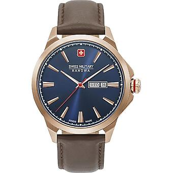 SWISS MILITARY-HANOWA - Montre - Hommes - DAY DATE CLASSIC - 06-4346.02.003