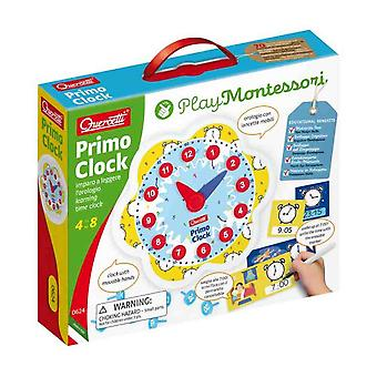 Quercetti play Montessori primo clock