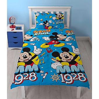 Mickey Mouse Stay Cool Duvet Cover Set