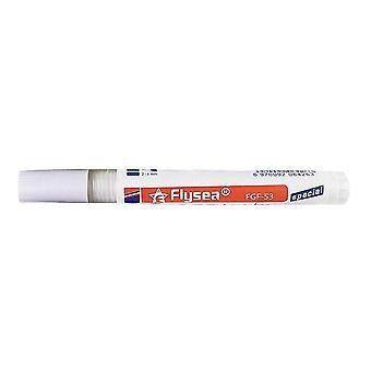 Barevné pero, bílá dlaždice náplň malty pen, porcelánplnice vodotěsný