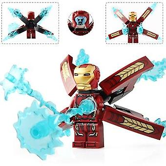 Superheroes Collection Iron Man Mk Building Blocks Minifigures, 4-80 Years Old