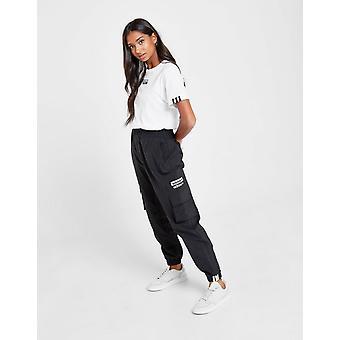 New adidas Originals Cargo Track Pants Black