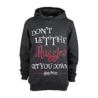 Harry Potter Muggles Girls Pullover Hoodie | Official Merchandise