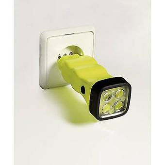 AccuLux Dört LED EX Akülü el projektör Ex Zoning: 1, 2, 21, 22 50 m