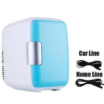 Kettős felhasználású 4l Otthoni autós hűtőszekrények, Fagyasztó, Hűtőgép, Hűtőszekrény