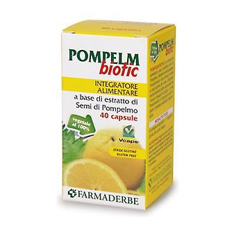 POMPELMBIOTIC 40CPS 16G 40 capsules