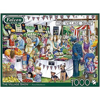 Falcon de luxe Jigsaw Puzzle 1000 pieces The Village Show