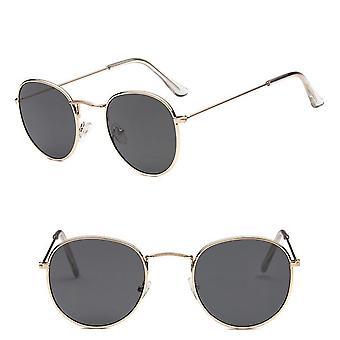 Retro sluneční brýle, kulaté vintage brýle/dámské