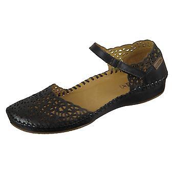 Pikolinos Pvallarta 6550906 sapatos femininos de verão universais pretos