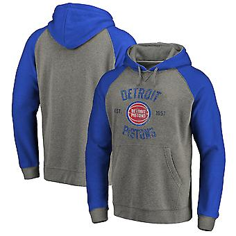 Detroit Pistons Pullover Hoodie Swearshirt Tops 3WY393