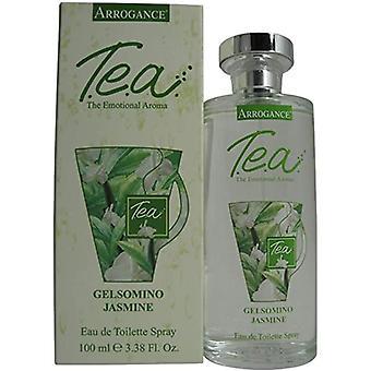 Arrogance T.e.a. Green Tea Eau de Toilette Spray for Women 100 ml