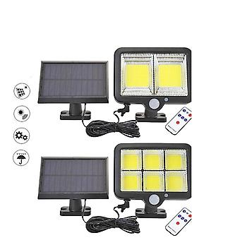 120 LED Cob Solar Light - Outdoor Motion Sensor Wandleuchte