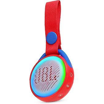 JBL JR POP Vattentät bärbar Bluetooth-högtalare Avsedd för barn - Röd