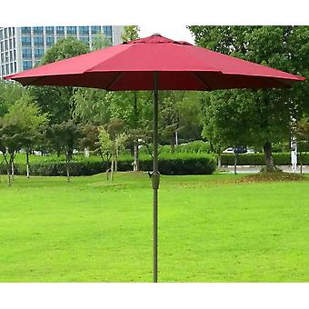 2.7 Meter Outdoor Patio Sunshade Steel Frame Folding Without Base