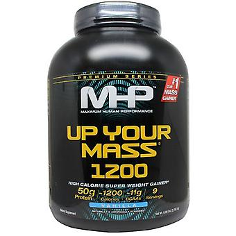 MHP Up Your Mass 1200 Chocolate 2817 g