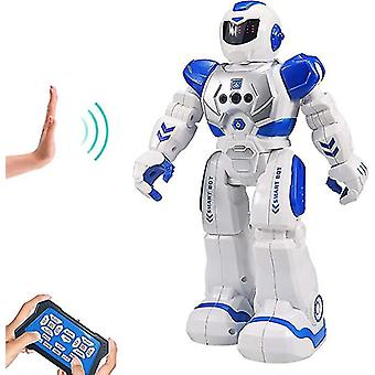 Robot For Kids Intelligent Programmable Robot With Infrared Controller Toys, Dancing, Singing, Led Eyes, Gesture Sensing Robot Kit