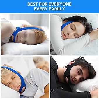 Nuovo Neoprene Anti Snore Stop Snoring Chin Strap Belt Anti Apnea