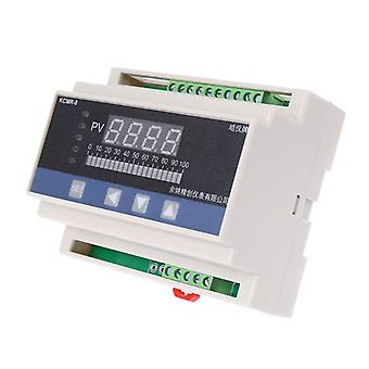 4-20Ma dc water liquid level pressure controller with 4-ways relay dc24v output