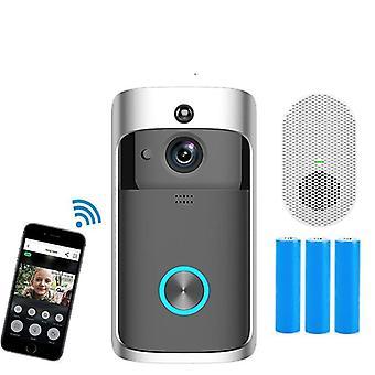 Intelligens csengő kamera Wifi Vezeték nélküli