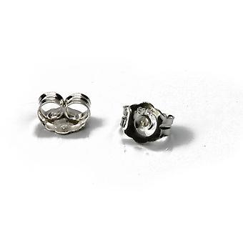 F-ss-007 Butterfly Earring Backs Sterling Silver