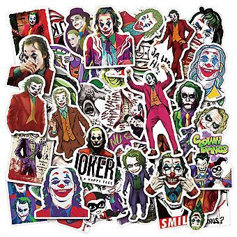 50x klistermærker og klistermærker - Jokeren