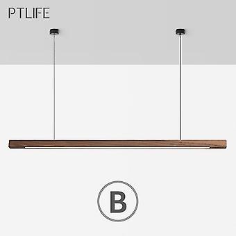 Nordic Wood Light Led Modern Pendant Lamps