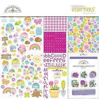 Doodlebug Design Fee Garten12 x 12 Zoll Essentials Kit